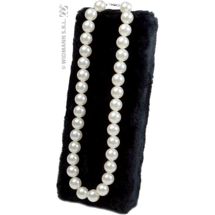 Collier grandes perles nacrées