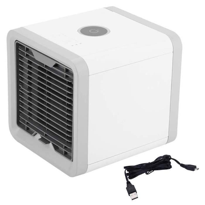 Mini Refroidisseur D'air Climatiseur de Refroidissement Portable Lumière colorée Pour Maison et Bureau