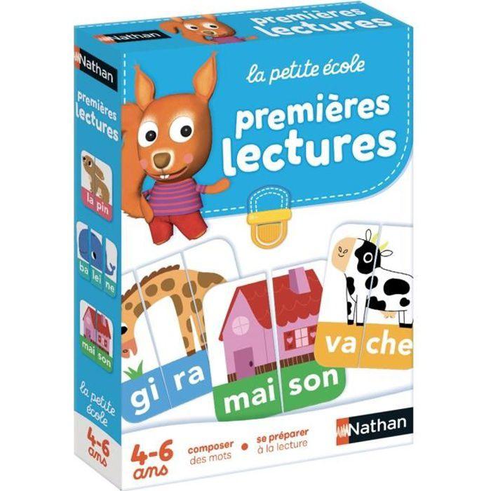 NATHAN La Petite Ecole - Premières Lectures - Jeu éducatif