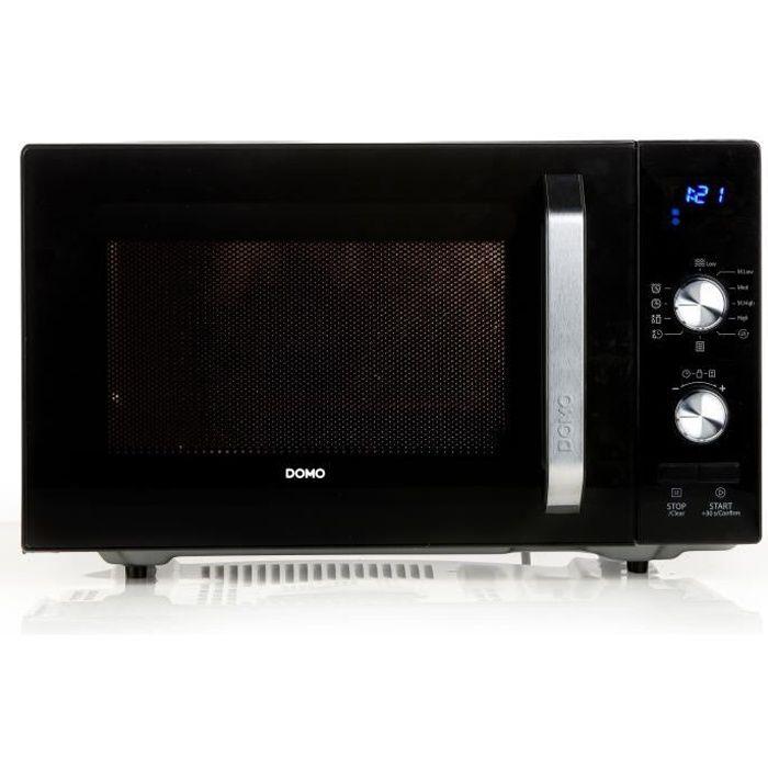 DOMO- DO2924- Micro-ondes - 23L - 800W - plateau 27cm - minuterie jusqu'à 95mn