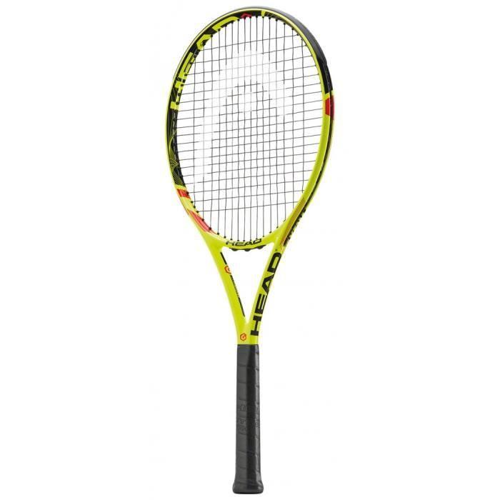 HEAD 230715-U Graphene XT Extreme Pro Raquette de Tennis Jaune-Noir-Rouge Taille 40