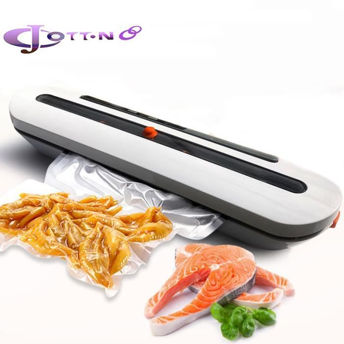 Machine Sous Vide JCOTTON® - Appareil de Mise Sous Vide Alimentaire Automatique pour Aliments, Viandes, Légumes, Fruits