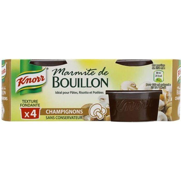Knorr Marmitte de bouillon Champignon 112g