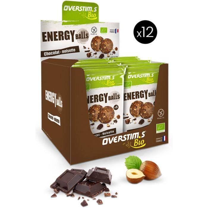 OVERSTIMS - Energy Ball Bio (12 sachets)