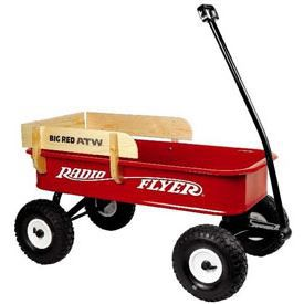 Big Red ATW - All-Terrain Steel and Wood Wagon