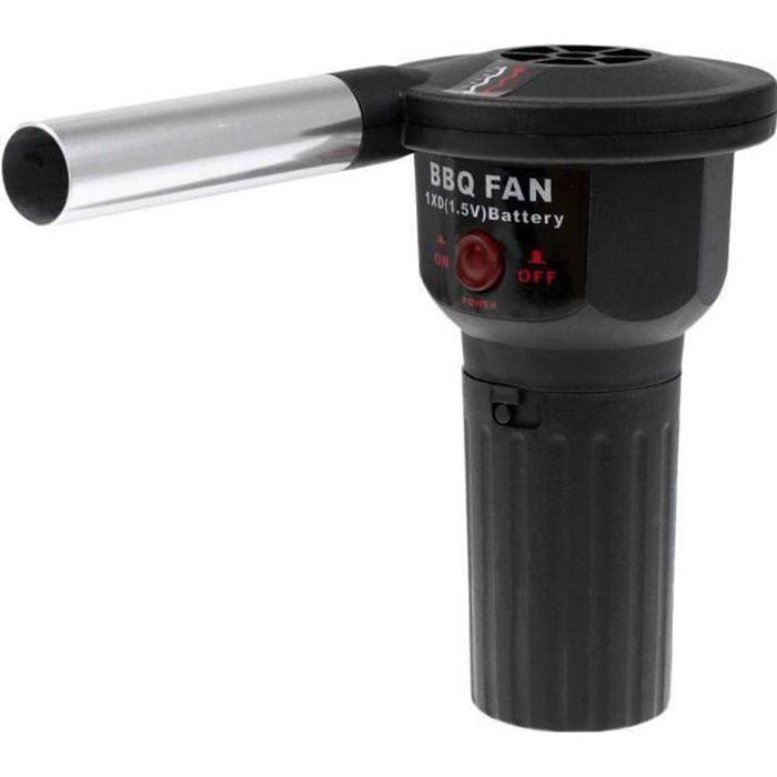 Barbecue Souffleur électrique,Barbecue Souffleur électrique Portable Portable Batterie à main BBQ Ventilateur de ventila,n plein air
