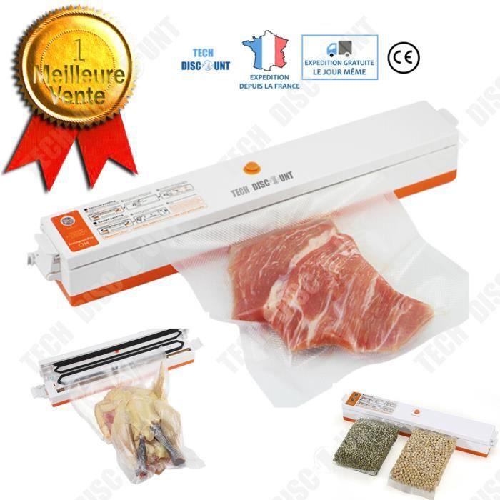 machine sous vide alimentaire professionnel scellage cuisine conservation thermo soudeuse coupeuse sac en plastique automatique