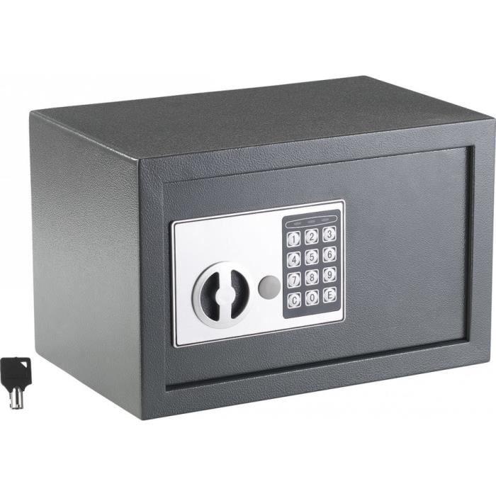 Coffre-fort en acier avec code numérique