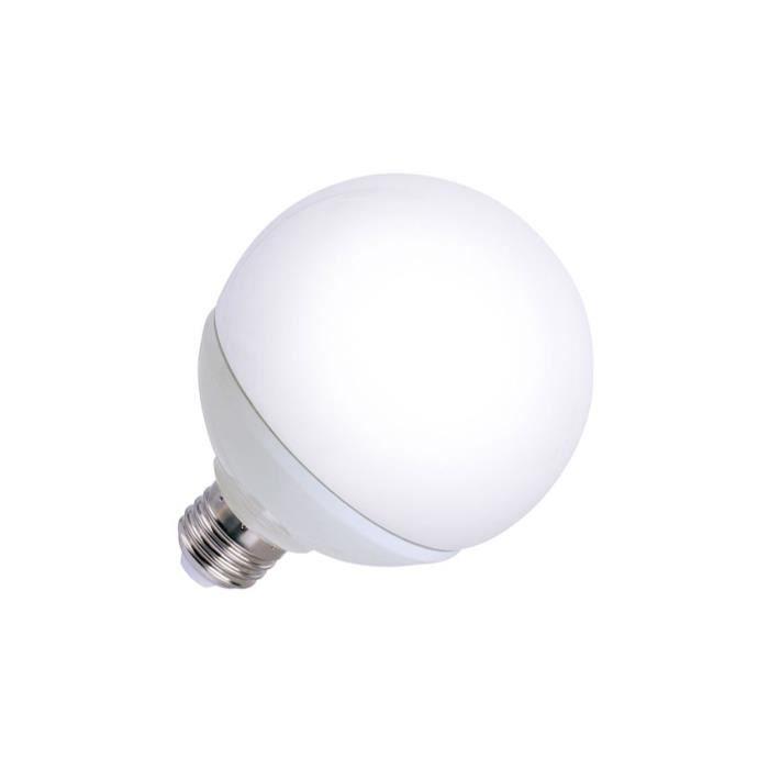 AMPOULE - LED Ampoule LED E27 G120 12W - température couleur:BLA