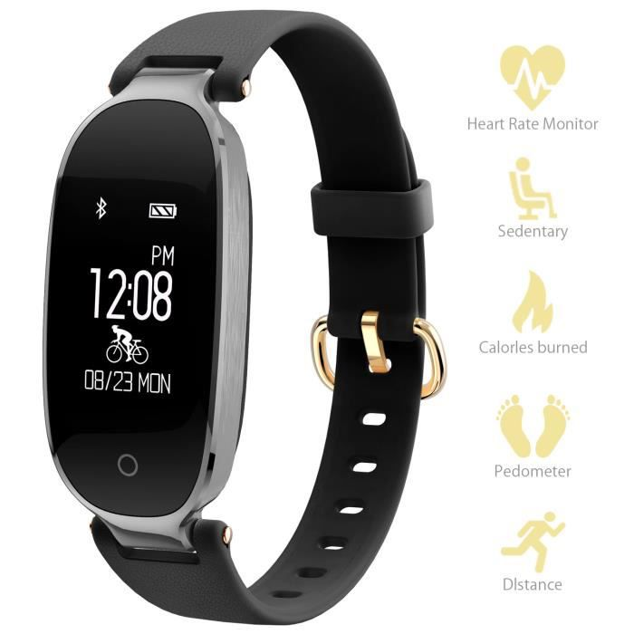 montre connect e sport fitness tracker d 39 activit smartphonespaschers. Black Bedroom Furniture Sets. Home Design Ideas