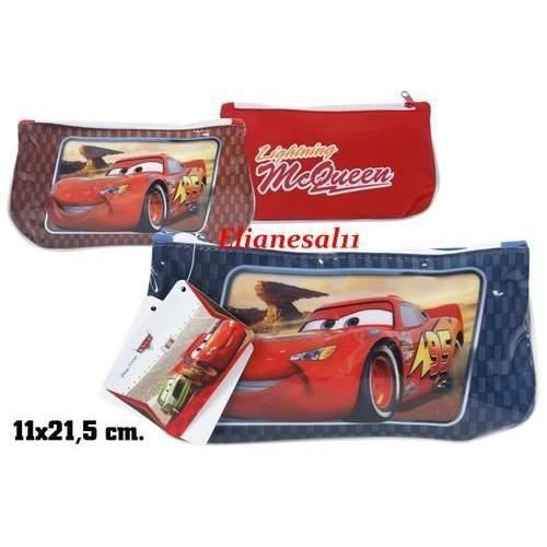 trousse plate bleu cars flash mcqueen disney achat. Black Bedroom Furniture Sets. Home Design Ideas