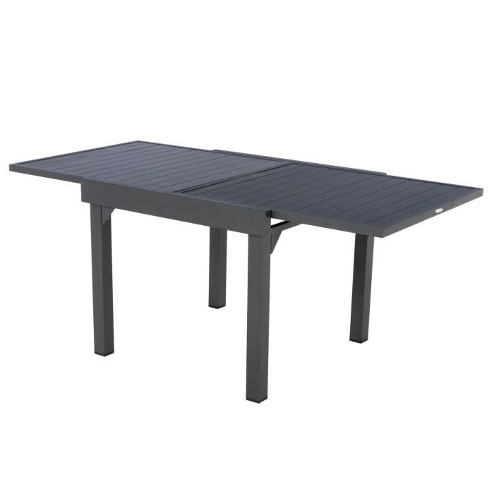 Table de jardin extensible 8 Personnes Piazza - L. 135-270 ...