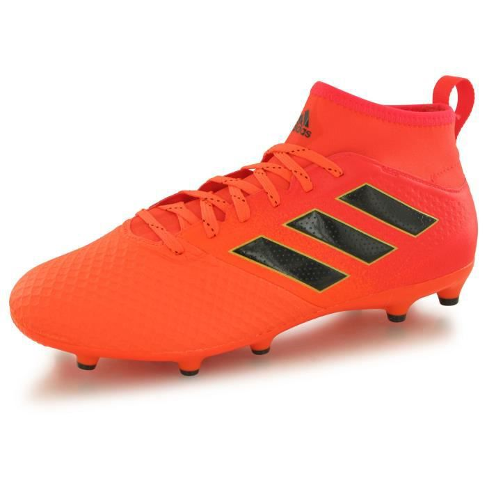detailed look ee28e 5b0cb ADIDAS Chaussures de Football Ace 17.3 FG - Homme - Orange et Noir