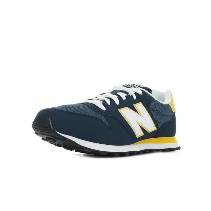 baskets new balance bleu
