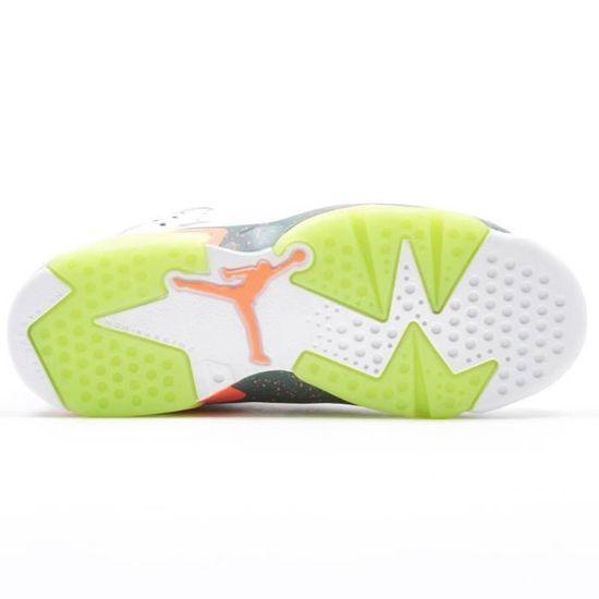 Air Jordan 6 Retro enfant Blanc - Cdiscount Chaussures