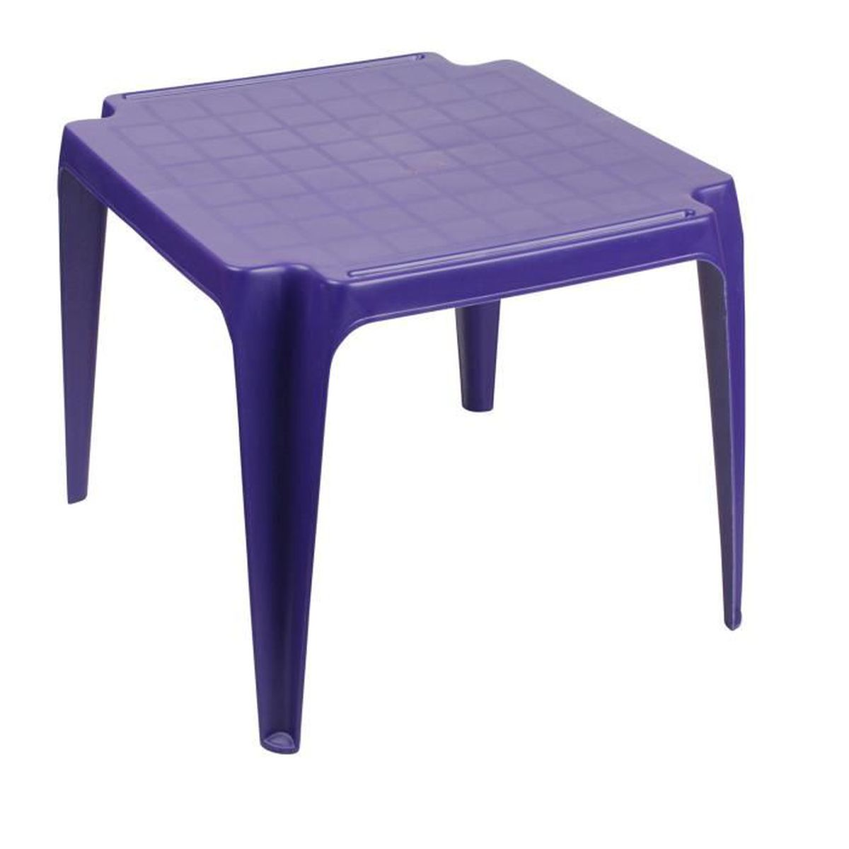 table de jardin violet achat vente pas cher cdiscount. Black Bedroom Furniture Sets. Home Design Ideas