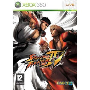 JEUX XBOX 360 STREET FIGHTER 4 / JEU CONSOLE XBOX360