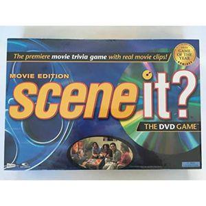 DVD FILM Piece Detachee Table Multi-Jeux VHCSH Scene it Fil