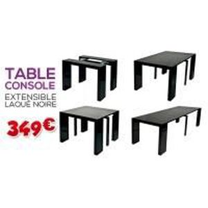table console pour 12 personnes 4 rallonges achat vente console extensible table console. Black Bedroom Furniture Sets. Home Design Ideas