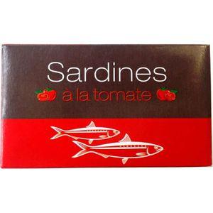 PRODUIT DE SARDINE Sardines du Maroc à la tomate - 125 g