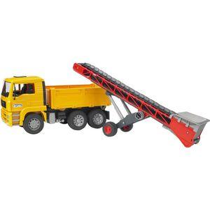 VOITURE À CONSTRUIRE Camion benne MAN avec convoyeur Série PRO de la m…