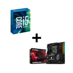 PACK COMPOSANT KIT Evo Intel® Skylake Core® i5 6600K + MSI carte
