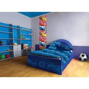 frise murale cars achat vente frise murale cars pas cher cdiscount. Black Bedroom Furniture Sets. Home Design Ideas