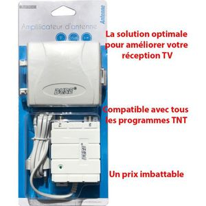REPARTITEUR TV Kit Amplificateur d'antenne TV