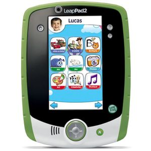 JEU CONSOLE EDUCATIVE LEAPFROG Tablette Personnalisable LeapPad 2+ Verte