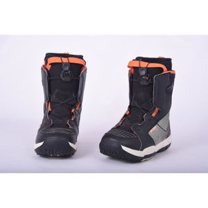 CHAUSSURES SNOWBOARD Boots occasion junior Salomon Talapus noir-gris-or