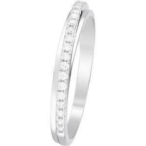 ALLIANCE - SOLITAIRE Alliance Or Blanc et Diamants 0,12 carats