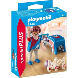 UNIVERS MINIATURE PLAYMOBIL 9440 - Family Fun - Joueur de bowling -