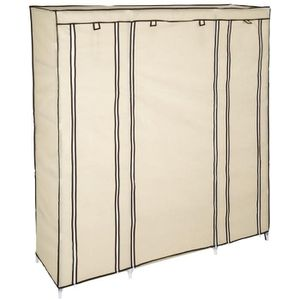 PENDERIE SOUPLE TECTAKE Armoire Penderie - 12 Compartiments - Tiss