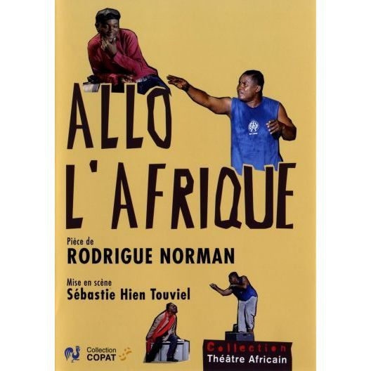 dvd allo l 39 afrique en dvd spectacle pas cher fidele baha simon aka rodrigue norman fran ais. Black Bedroom Furniture Sets. Home Design Ideas