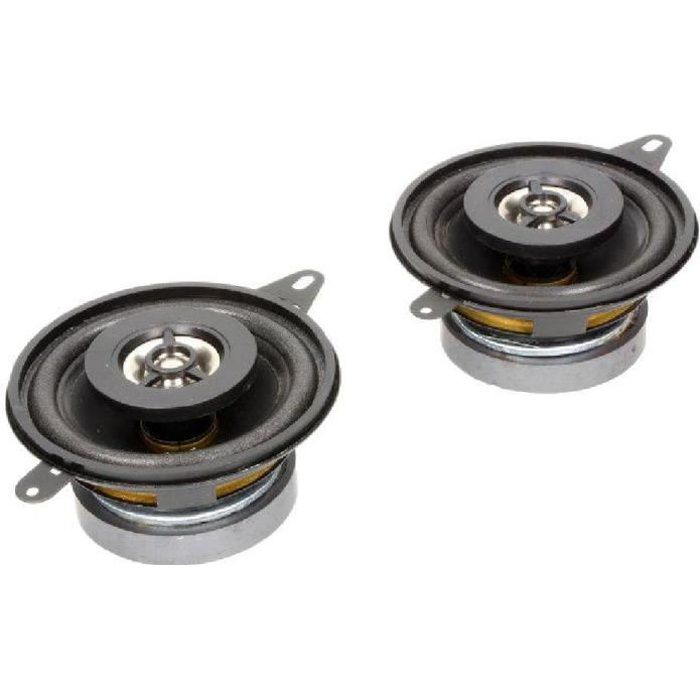 2 Haut-parleurs a deux voies 87mm 80W 100/20000Hz - ADNAuto