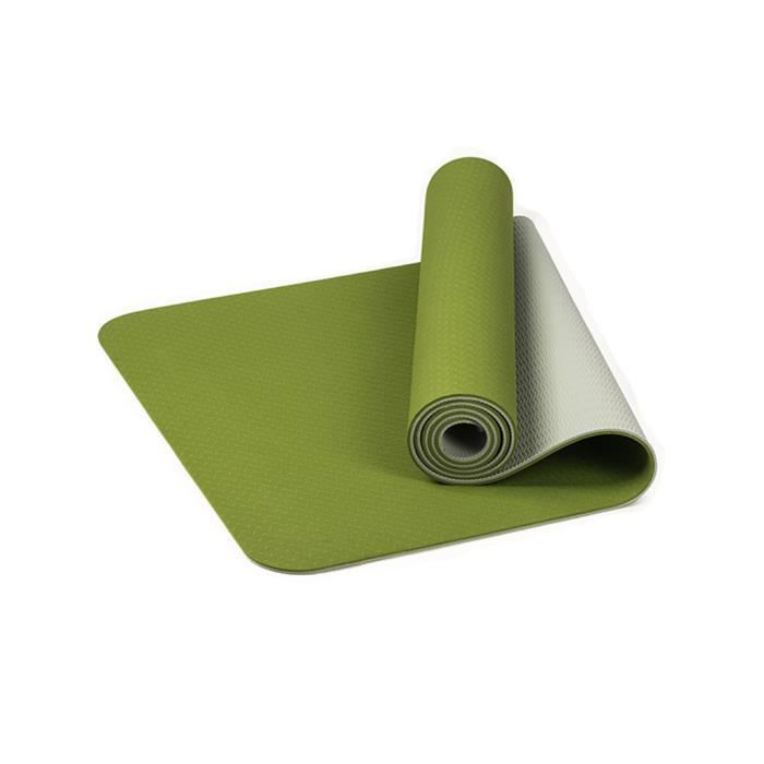 Tapis de yoga classique Yoga Mat Pro TPE Eco Friendly Antiderapant Fitness Tapis d'exercice @duo563