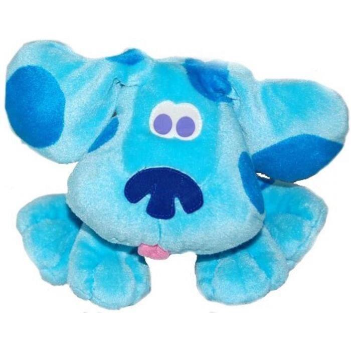Peluche VH0BU Solace Blues Clues bleu en peluche