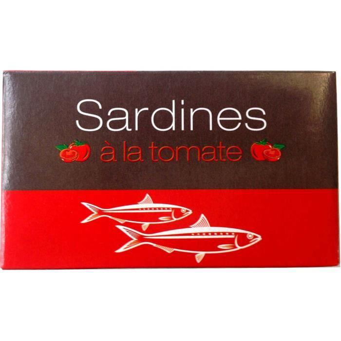 Sardines du Maroc à la tomate - 125 g