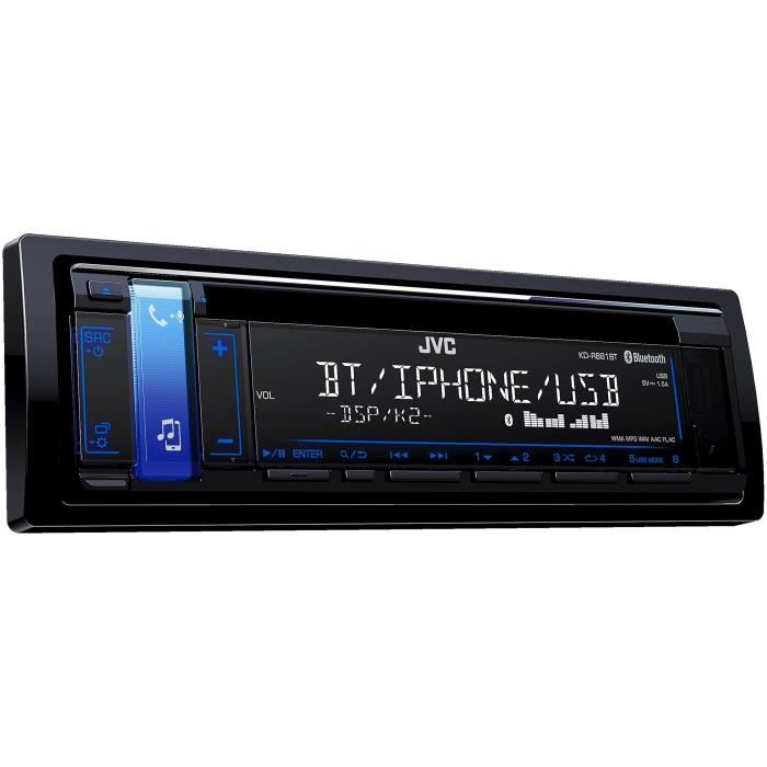 JVC Autoradio KD-R881BT CD AUX USB iPod iPhone Bluetooth 4 x 50 W