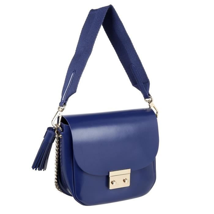 LACOSTE Sac Crossover NF2812TL Bleu Femme