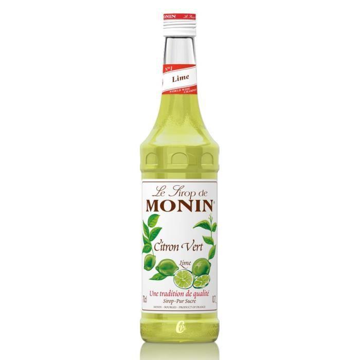 Sirop Monin Citron vert