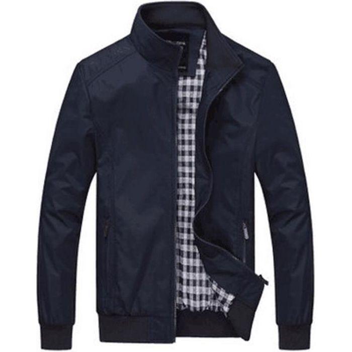 Veste homme occasionnels grande taille veste pour hommes