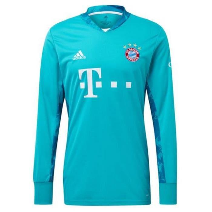 Nouveau Maillot Homme Adidas Gardien de But Bayern de Munich Saison 2020-2021