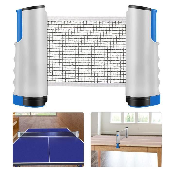 Filet de Tennis de Table Rétractable Filet de ping-Pong Portable Remplacement Filet Accessoires pour Intérieur et Extérieur Voyage