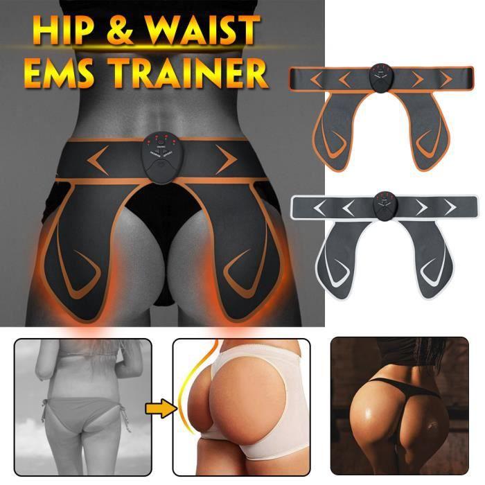 TEMPSA EMS Hips Trainer Fessier Electrodes Fesses Levée Forme Créer Muscle blanc