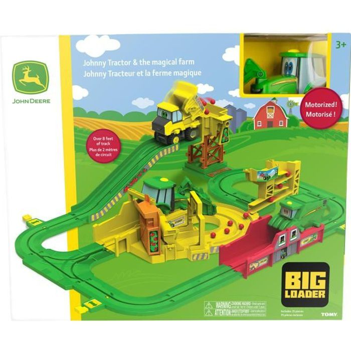 Circuit Big Loader Johnny Tracteur
