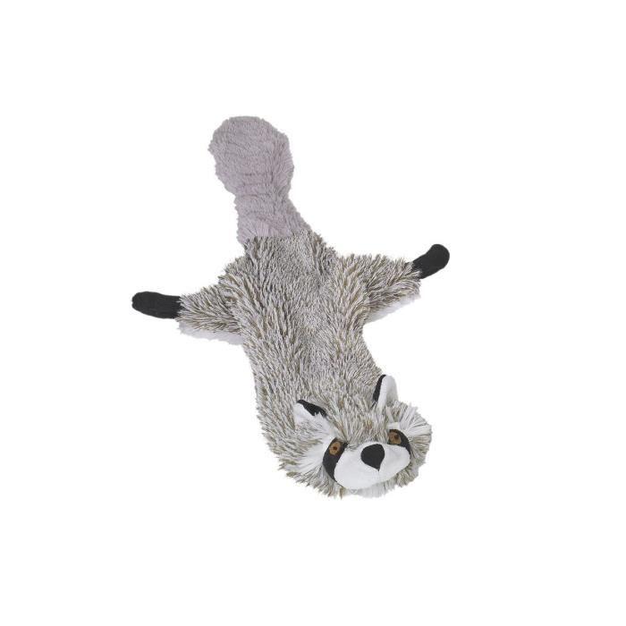 NOBBY Jouet pour chien peluche non rembourrée raton-laveur 60cm