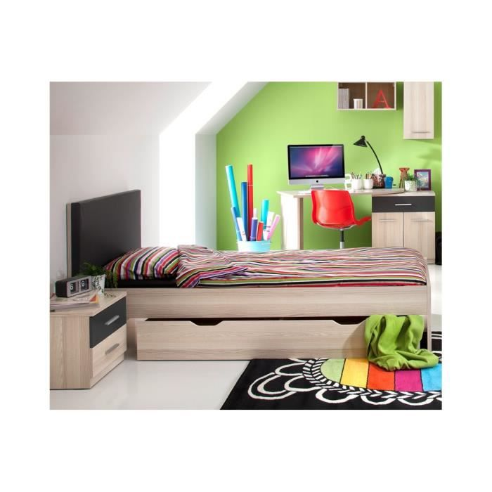 chambre ado complete avance ii achat vente chambre compl te chambre ado complete avance. Black Bedroom Furniture Sets. Home Design Ideas