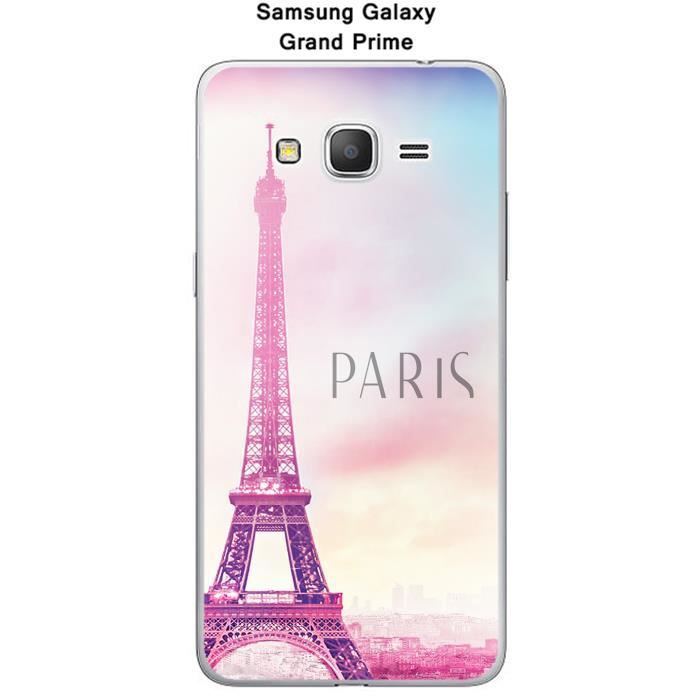 Coque Samsung Galaxy Grand Prime Paris - Cdiscount Téléphonie