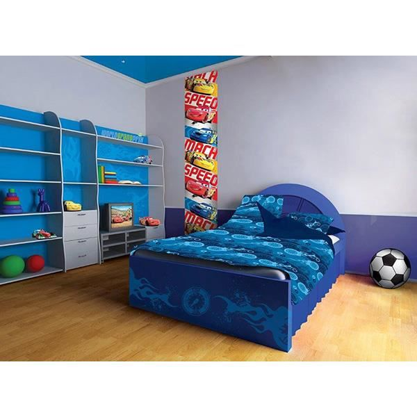 frise murale verticale disney cars 50cm x 2 80m achat vente papier peint cdiscount. Black Bedroom Furniture Sets. Home Design Ideas